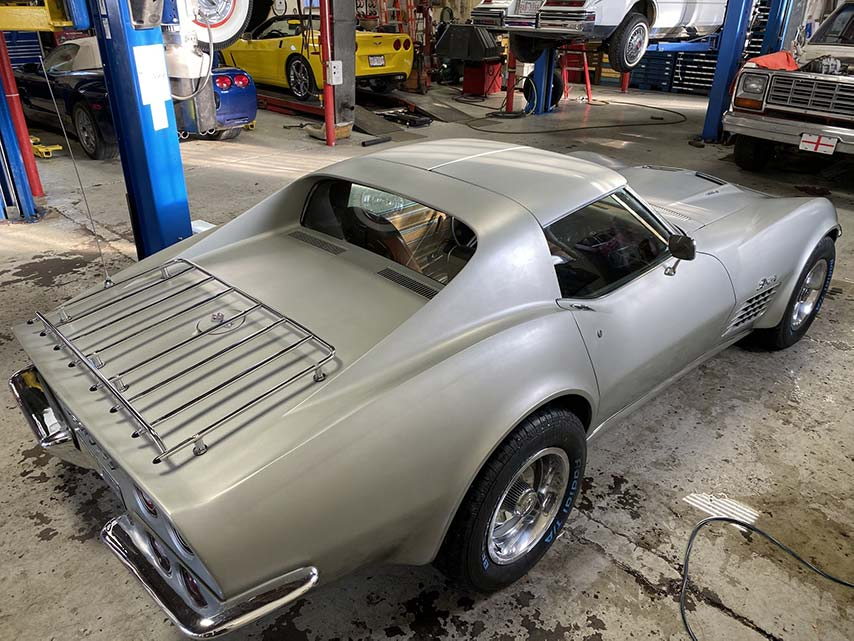 1972 Big Block Corvette